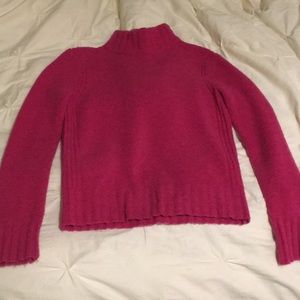 Jcrew mock neck sweater point sur xs